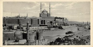 Vintage Egypt Postcard Cairo The Citadel Panoramic Bookmark Style BE8