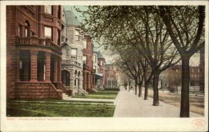 Richmond VA Franklin St. c1905 Detroit Publishing Postcard