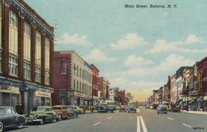 BATAVIA , New York , 1952 ; Main Street