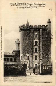 CPA Chateau de MORTHEMER Vue prise du Nord Dans ce Donjon se trouve (365896)