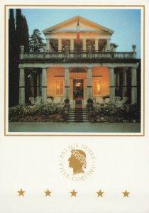 FRONT VIEW VILLA CORTINE PALACE HOTEL Vintage Postcard