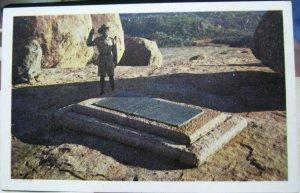 Zimbabwe Rhodes' Grave Matopos - unposted