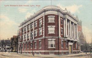 Massachusetts Lynn Women's Club House 1913