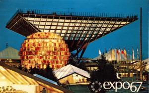 Canada - Quebec, Montreal, 1967. Expo '67. Canada's Pavilion