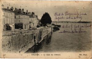 CPA ORLÉANS-Le Quai du Chatelet (185168)