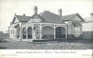 Australia Clerk's Home Victoria Victoria Clerk's Home