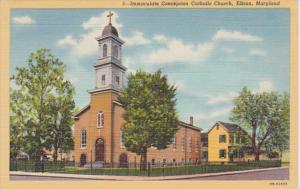 Maryland Elkhart Immaculate Conception Catholic Church Curteich