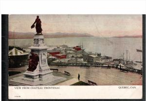 QUEBEC, Canada; View from Chateau Frontenac, 00-10s