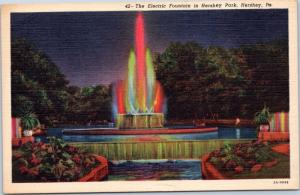 The Electric Fountain in Hershey Park