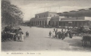 ALEXANDRIE , Egypt , 00-10s ; The Station