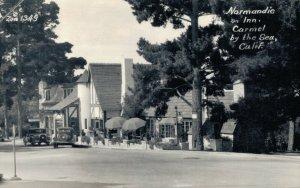 USA Normandie Inn Carmel by the Sea California RPPC Posted 03.31