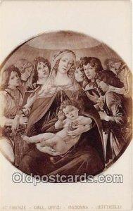 Firenze Gall Uffizi Madonna Unused