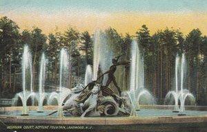 LAKEWOOD, New Jersey, 1901-07; Georgian Court, Neptune Fountain