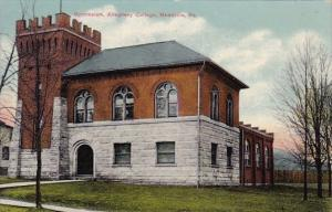 Pennsylvania Meadville Gymnasium Allegheny Cottage 1910