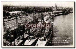 Bordeaux - Sailing - Port Autonome Torpilleurs moorings before - Old Postcard