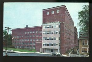 Portland, Maine/ME Postcard, Maine Medical Center, Old Cars, 1960's?