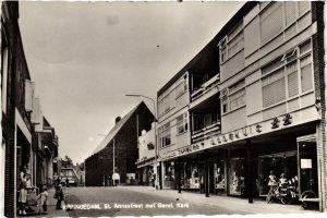 CPA APPINGEDAM St. Annastraat met Geref. Kerk NETHERLANDS (705947)