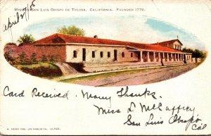 California Mission San Luis Obispo De Tolosa Founded 1772 1905
