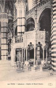 Italy Siena - Cattedrale Pulpito di Nicola Pisano
