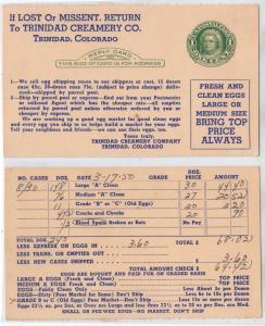 Trinidad Creamery Co, Trinidad CO