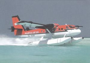 Maldivian Air Taxi Airplane ,  80-90s