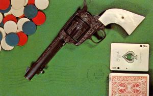 Gambling - Better not cheat  Gun
