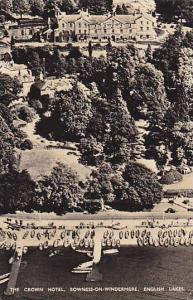 RP, The Crown Hotel, English Lakes, Bowness-on-Windermere (Cumbria), England,...