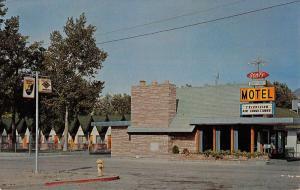 Winnemucca Nevada Scott Shady Court Street View Vintage Postcard K41760