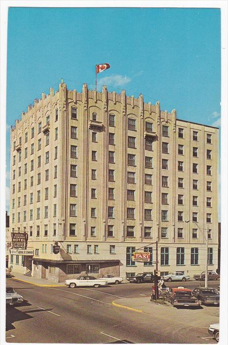 Royal Edward Hotel, FORT WILLIAM, Ontario, Canada, 40-60´s