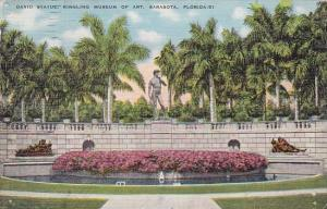 Florida Saraota David Statue Ringling Museum Of Art 1937