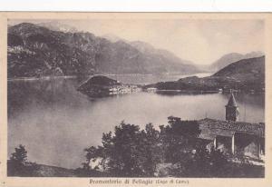 Panorama, Promontorio Di Bellagio (Lago Di Como), Lombardy, Italy, 1900-1910s