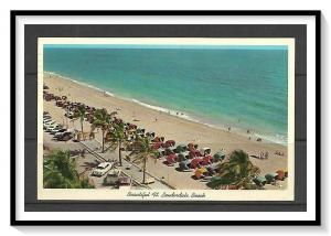 Florida, Fort Lauderdale - Colorful Cabanas On Beach - [FL-047]