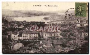 Postcard Old Givors Panoramic