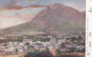 SOUTH AFRICA, PU-1904; Cape Town And Devils' Peak