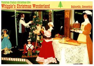 Connecticut , Dayville , Whipple's Christmas Wonderland ,    Victorian F...