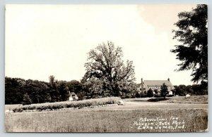 Lake James Indiana~Pokagon State Park~Potawatomi Inn~1930s RPPC
