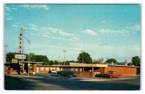 BURLEY, ID ~ Roadside EAST PARK MOTEL c1960s Cassia & Minidoka Counties Postcard