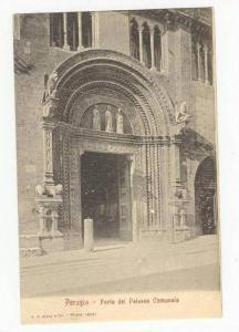 Perugia, Italy, 1890s Porta del Palazzo Comunale