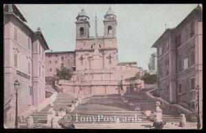 Trinita del Norti and Spanish Stairs