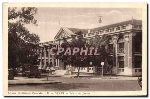 Old Postcard Courthouse Dakar Senegal West Africa Francaise