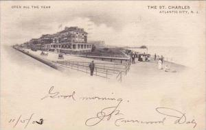 New Jersey Atlantic City Open All The Year The Saint Charles 1903