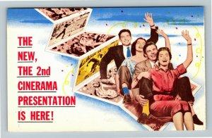 Cleveland OH- Ohio, Cinerama, Palace Theater, Chrome Postcard