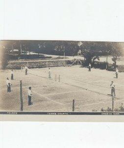 RP: EMESON , Iowa , 1908 ; Tennis Courts