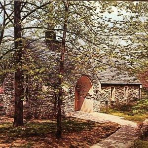 1950s/60s Beck Chapel, University of Indiana, Bloomington, IN Postcard Vintage