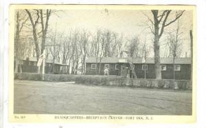Headquarters, Reception Center, Fort Dix, New Jersey, 00-10s