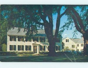 Bent Pre-1980 INN SCENE Sturbridge Massachusetts MA hs9022