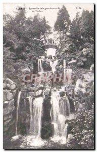 Postcard Old Rennes Great waterfall Tabor Gateway