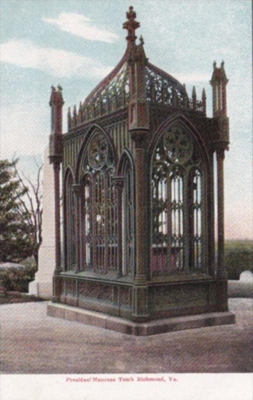 Virginia Richmond President Monroe Tomb