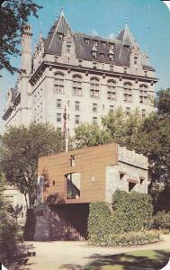 Exterior VIew of Fort Garry Gate, Fort Garry Hotel, Main Street, Winnipeg, Ma...