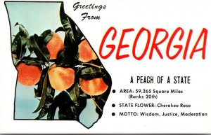 Georgia Greetings From The Peach State